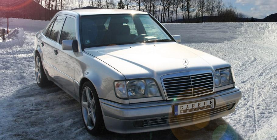 Carbon Motors Mercedes-Benz E500 W124 Front View