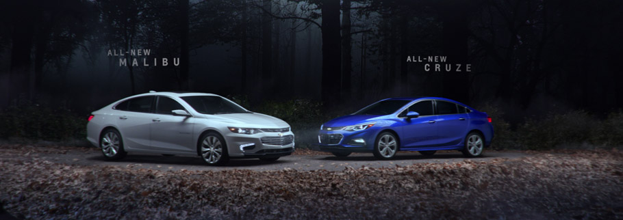 2016 Chevrolet Malibu and Cruze Ad