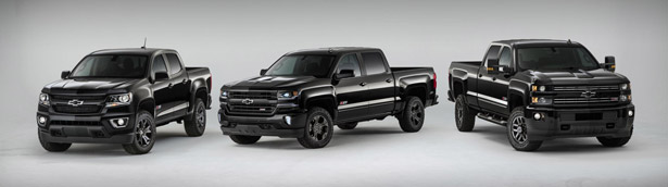Chevrolet Introduces Midnight Special Edition Pack for the Silverado and Colorado
