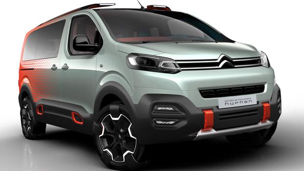 Citroen Will Officially Unveil Tourer Hyphen Concept at the Geneva Motor Show
