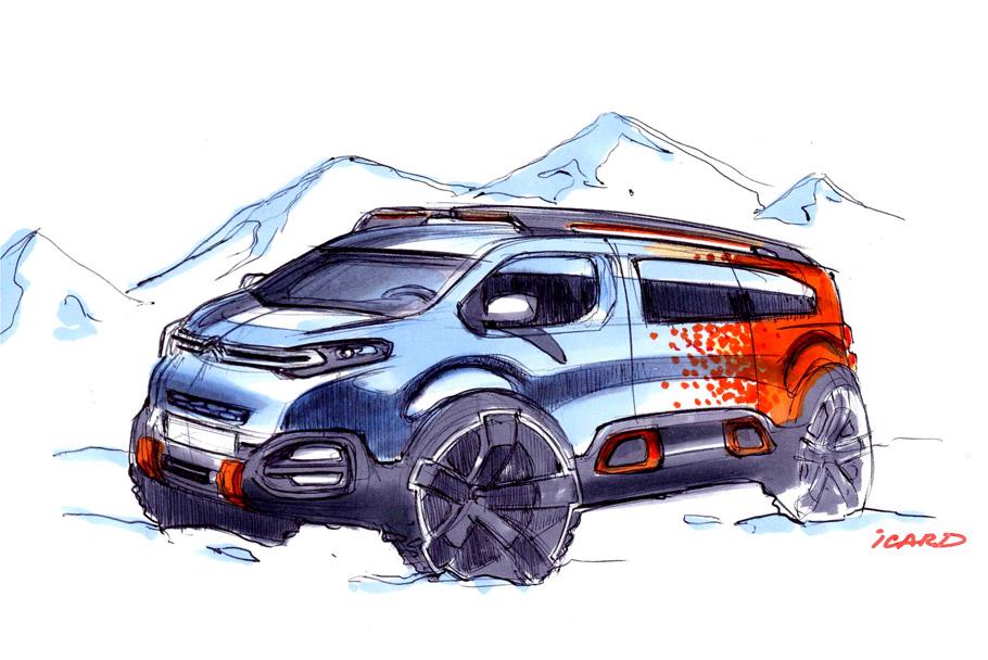 2016 Citroën SpaceTourer Hyphen Concept