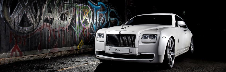 DMC Rolls Royce Ghost SaRangHae  Front View