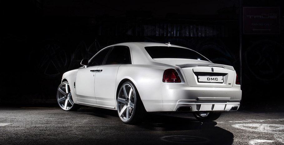 DMC Rolls Royce Ghost SaRangHae  Rear View