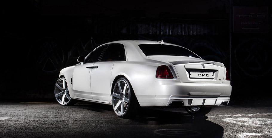 DMC Rolls Royce Ghost SaRangHae  Rear View