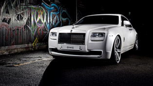 "dmc releases rather strange ""love"" rolls-royce ghost saranghae"