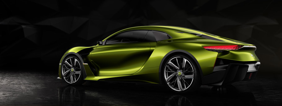 2016 DS E-TENSE Supercar