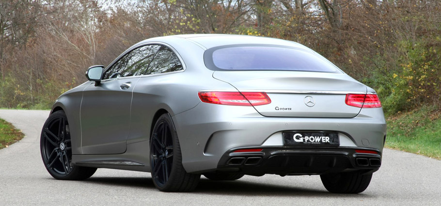 G-Power Mercedes-AMG S63 Rear View