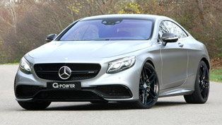 G-Power Unusually Boosts the Mercedes-AMG S63