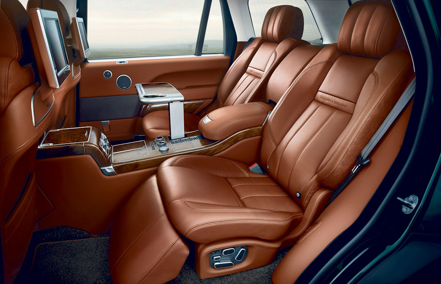 land rover reveals appealing and exclusive range rover model. Black Bedroom Furniture Sets. Home Design Ideas