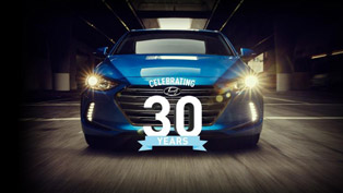 Happy 30th Birthday Hyundai! Sincerely, AutomobilesReview Team!
