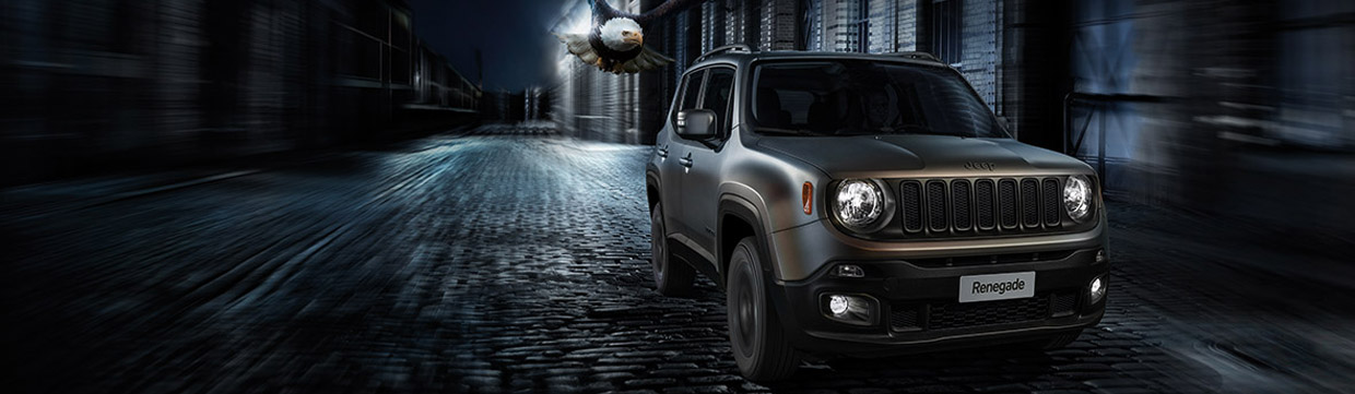 Jeep Renegade Night Eagle Front View