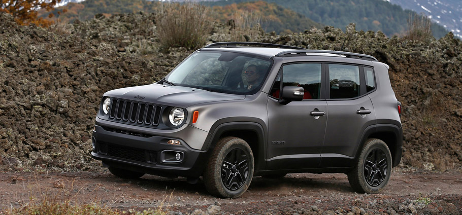 Jeep Renegade Night Eagle Side View