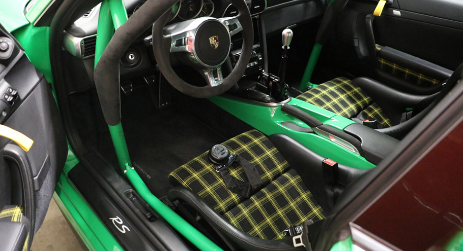 Kaege Porsche GT3 RS Interior