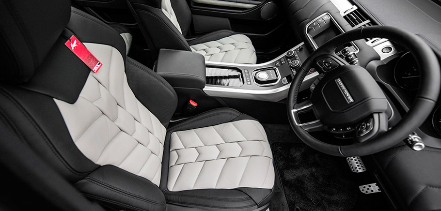 Kahn Range Rover Evoque Black Label Edition Interior