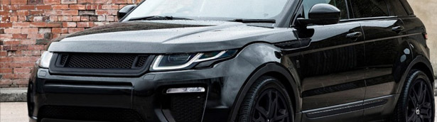 This Evoque Black Label Edition by Kahn is One-Off Bijou You Must See
