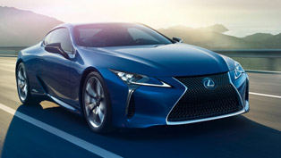 World Premiere of Lexus LC 500h and European Debut of LF-FC Concept