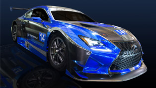 Lexus RC F GT3 is Here to Kick Some Ass!