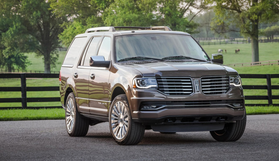 lincoln launches ad campaign for 2016 navigator. Black Bedroom Furniture Sets. Home Design Ideas