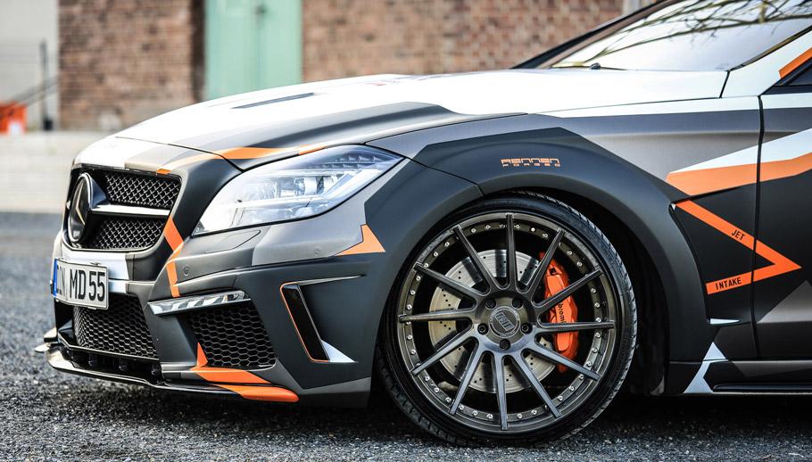 2016 M&D Mercedes-Benz CLS 500 Black Edition Stealth Wheels