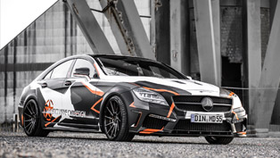 M&D Designs Camouflaged Mercedes-Benz CLS 500 Black Edition Stealth