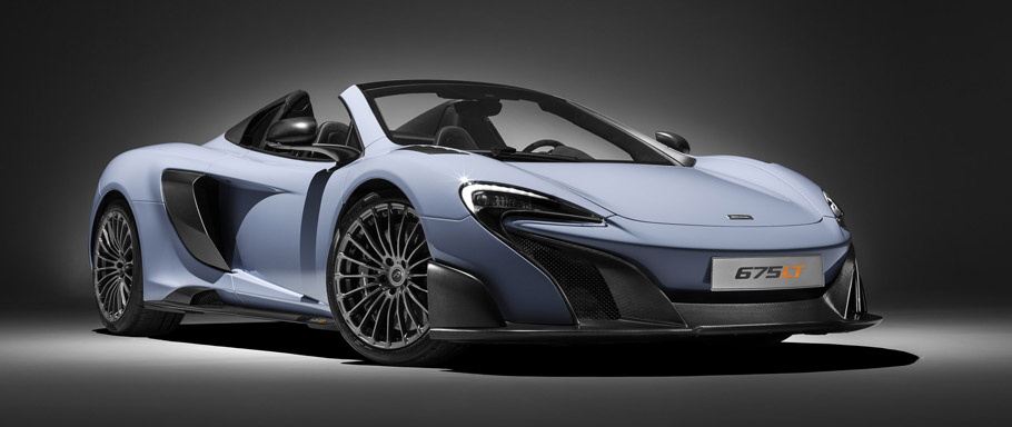 McLaren 675LT Spider by MSO Front View