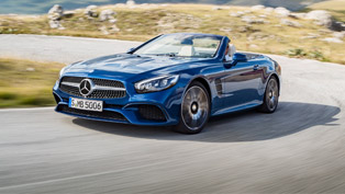 Mercedes Releases Details About the New SL Lineup