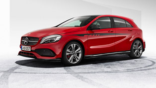 mercedes-amg offers exclusive body kit for all a-class models