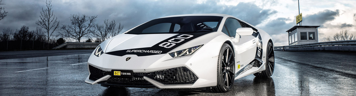 O.CT Tuning Lamborghini Huracan O.CT800 Supercharged Front View
