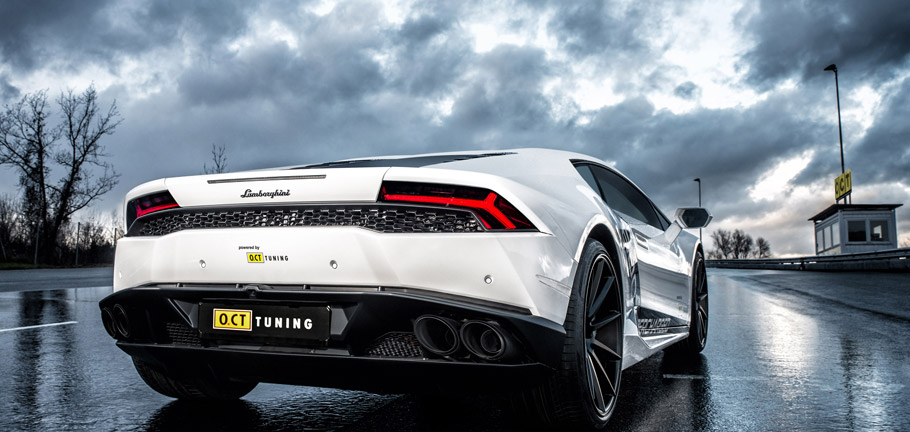 2016 O.CT Tuning Lamborghini Huracan O.CT800 Supercharged Rear View