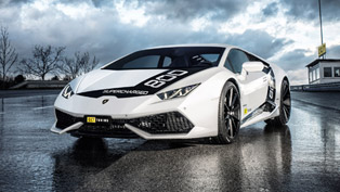 o.ct tuning releases wild supercharged kit for lamborghini huracan