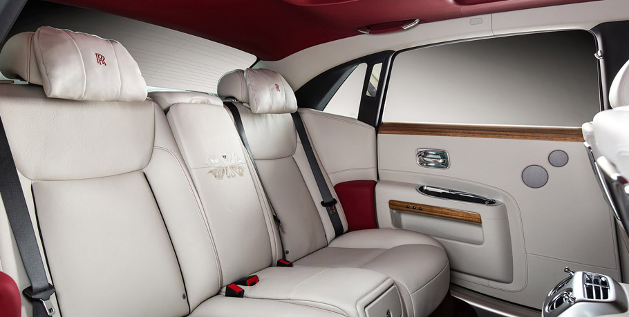 Rolls-Royce Ghost Eternal Love Edition Interior