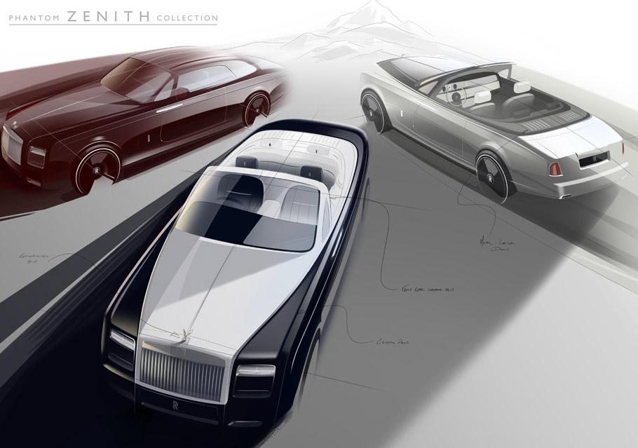 Rolls-Royce Phantom Zenith Lineup