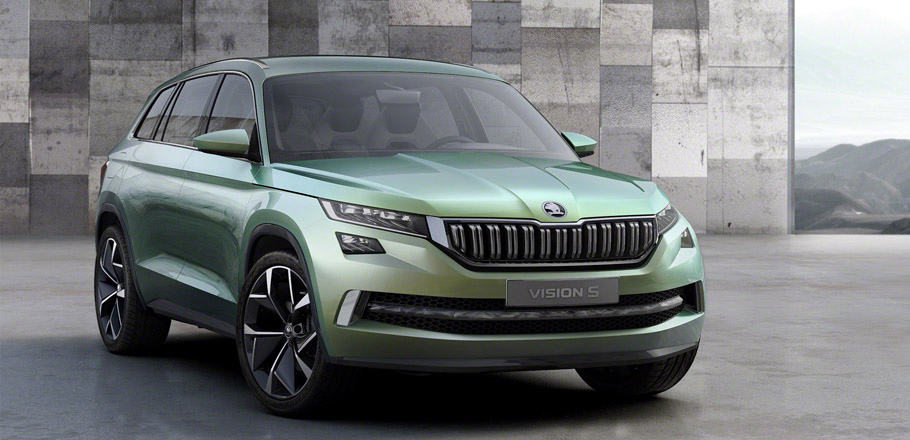 Skoda VisionS Concept Front View