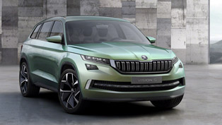 skoda visions concept revealed in details. to feature plug-in hybrid powertrain