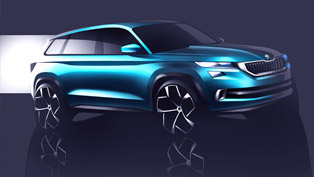 exclusive visions concept shows future skoda suv portfolio