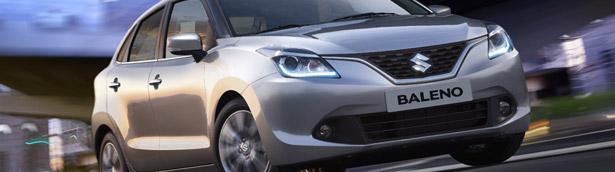 Suzuki to Unveil Baleno at the Geneva Motor Show