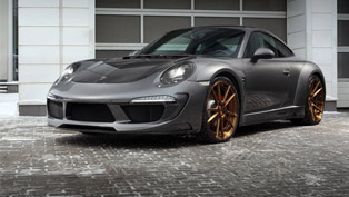TopCar Releases Carbonized Porsche 991 Carrera 4S with Stinger Body Kit