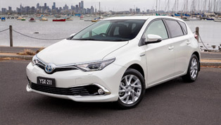 Toyota Corolla Hybrid is the Fifth Hybrid in Company's Synergy Drive Range