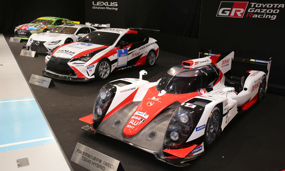 2016 Toyota Racing Vehicles