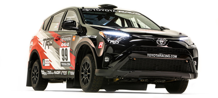 2016 Toyota Rally RAV4 rally car  Front View