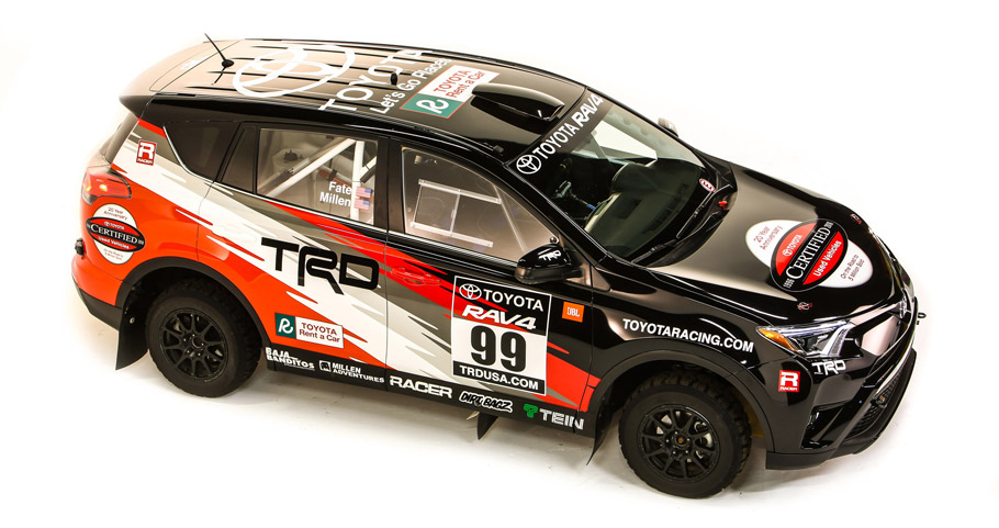 2016 Toyota Rally RAV4 rally car Side View
