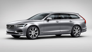 Volvo Has Proudly Showcased the Stylish And Functional 2016 V90