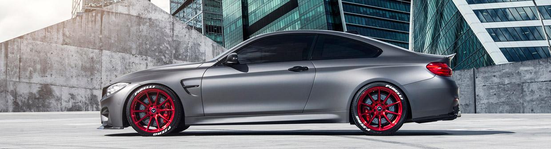 Vorsteiner BMW M4 F8X Frozen Gray Side View