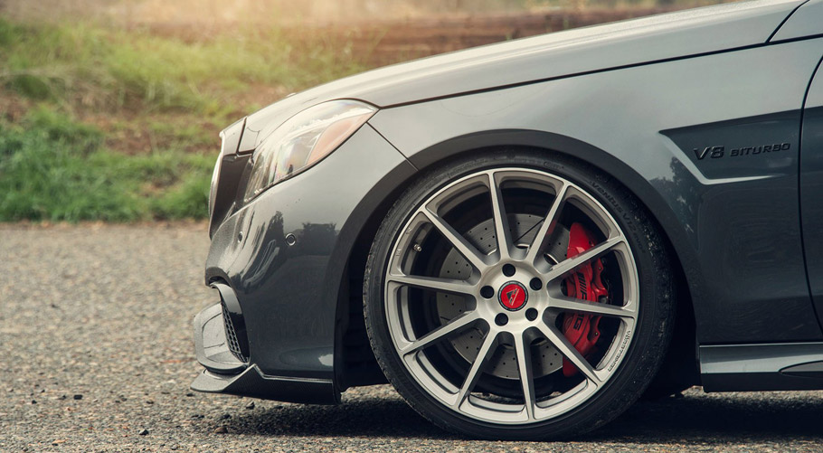 Vorsteiner Mercedes-Benz E63 AMG  Wheels and Front Spoiler