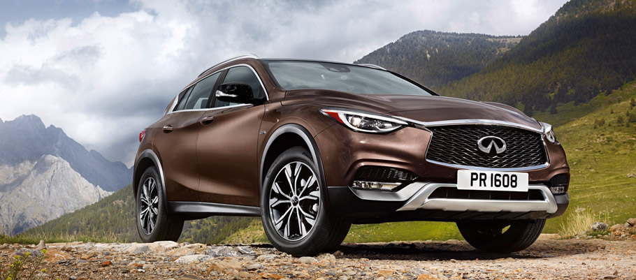 Infiniti QX30 Front View