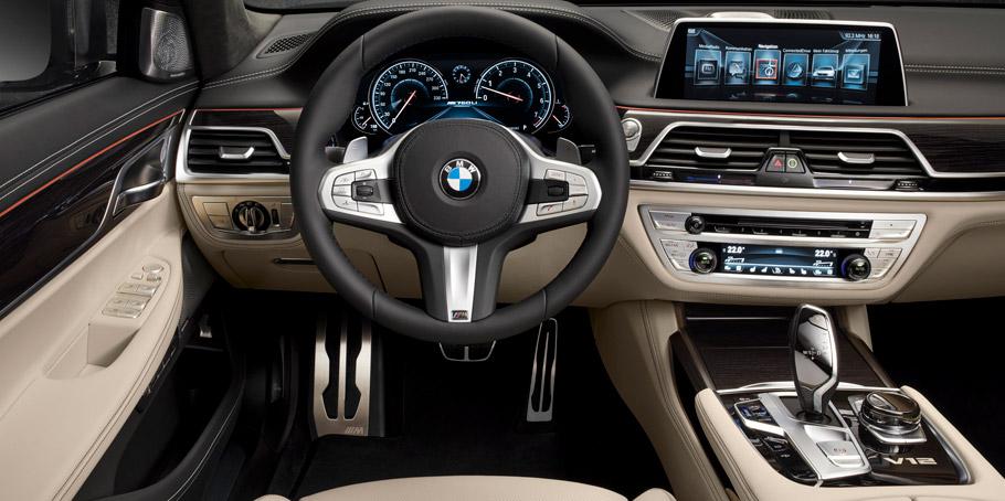 BMW M760Li xDrive Iterior