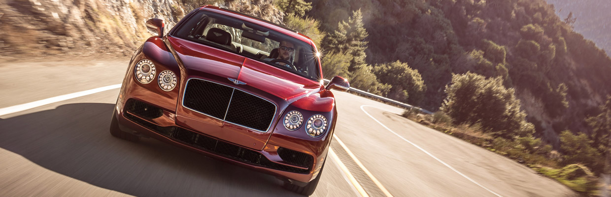 Bentley Flying Spur V8 S Front View