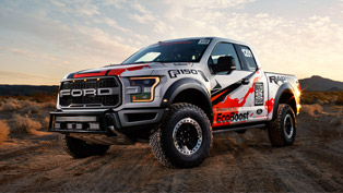 Ford F-150 Raptor Versus Desert. Who Will be the Winner?