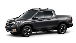 2017 Ridgeline Gets Personalized with Honda Genuine Accessories