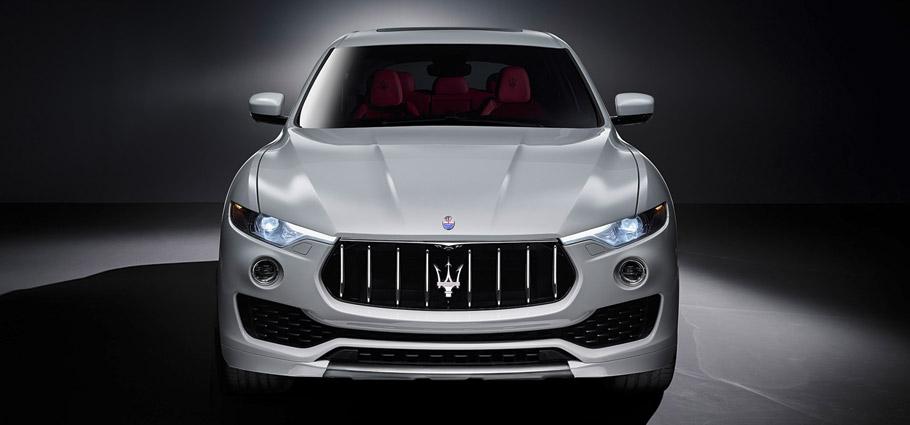 Maserati Levante Front View